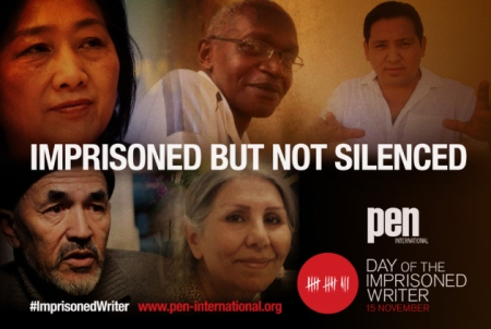 Day of The Imprisoned Writer