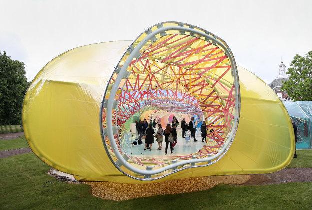 Escape In Spanish >> The Serpentine Pavilion – Cool Stuff | Tribalmystic stories