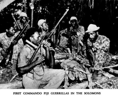 The first Fiji Commandos.